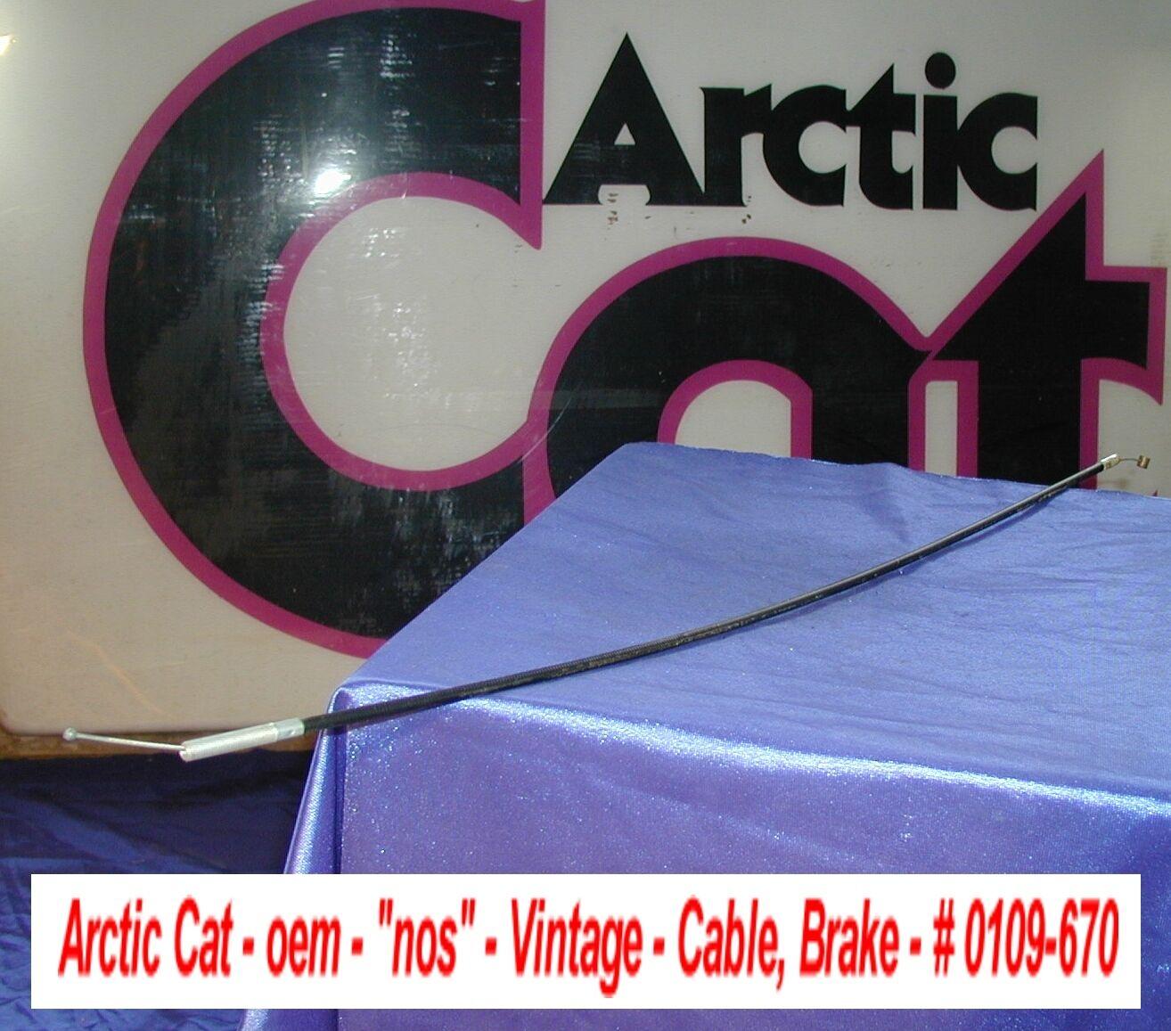 Arctic Cat oem Brake Cable Vintage 1975 El Tigre Z