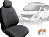 Hyundai I-max Custom Made Car Seat Covers 3 Row Set 02/2008-2017 Charcoal Imax