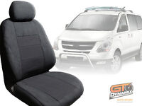 Hyundai I-max Custom Made Car Seat Covers 3 Row Set 02/2008-2017 Charcoal Imax