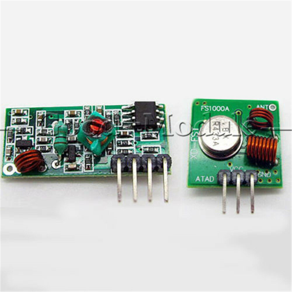 Transmitter With Class E Amplifier Attached Not Working Simple Fm 2n3904 433mhz Wireless Rf Module Receiver 100 Post Free