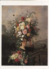 Alte Kunstpostkarte - Simon Saint-Jean - La Jardinière