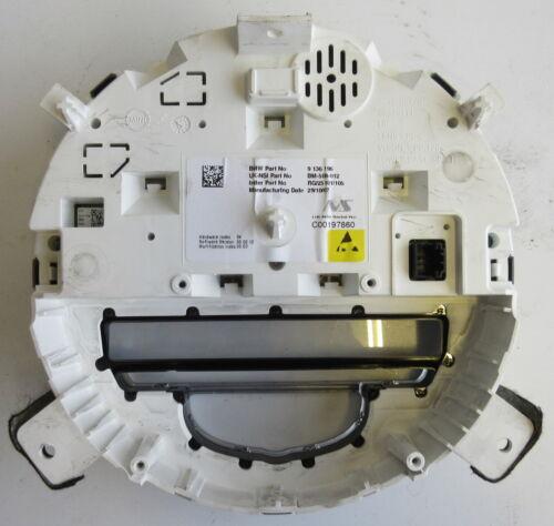 Genuine Used BMW MINI Instrument Cluster Speedo Panel for R56 R55 R57-9136196