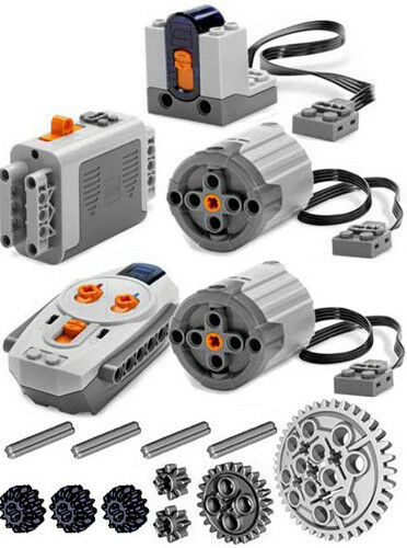 LEGO  Power Functions Set 3 (Technic, Moteur, RECEIVERr, emote Control, XL, engrenages, essieu)  haute qualité