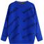 Rundhalsausschnitt Balen ciaga Sweatshirt Sport Sweater Strickpullover Pullover