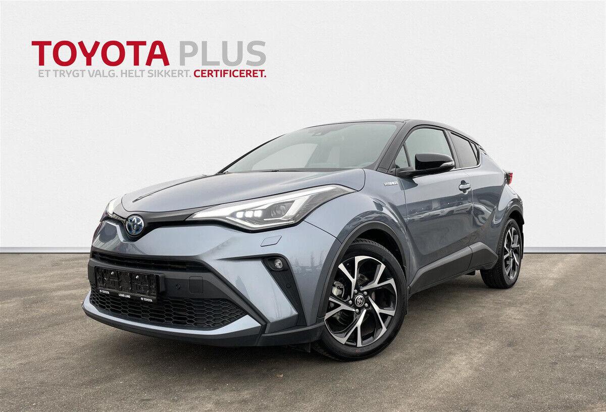 Toyota C-HR 1,8 Hybrid C-LUB Premium CVT 5d - 289.900 kr.