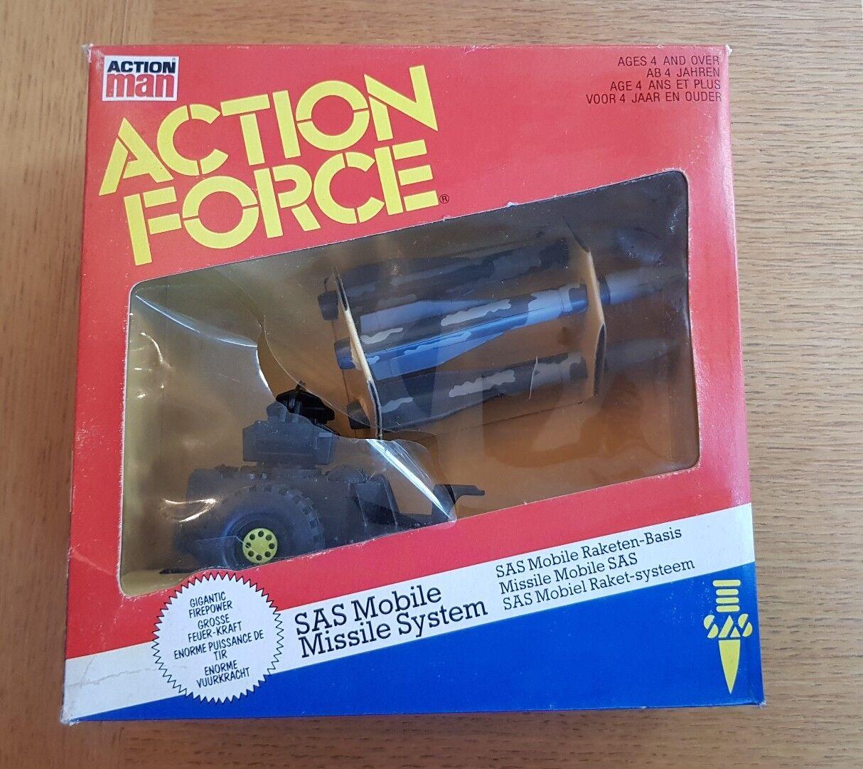Fuerza de acción sistema de misiles móvil SAS condición de coleccionistas en Caja