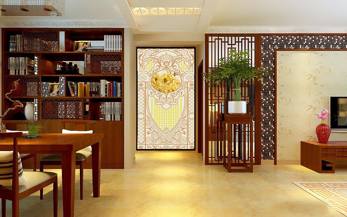 3D Golden Patterns 75 Wallpaper Mural Wall Print Wall Wallpaper Murals US Carly