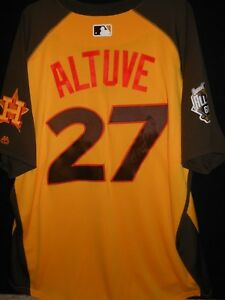quality design 7f414 c32ae Details about JOSE ALTUVE SIGNED 2016 ALL STAR JERSEY AUTHENTIC  MAJESTIC-HOUSTON ASTROS