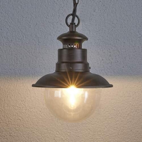 Extérieur Luminaire Eddie Rustique Suspendu Lampe éclairage Pendule Suspendu Lampe lampenwelt