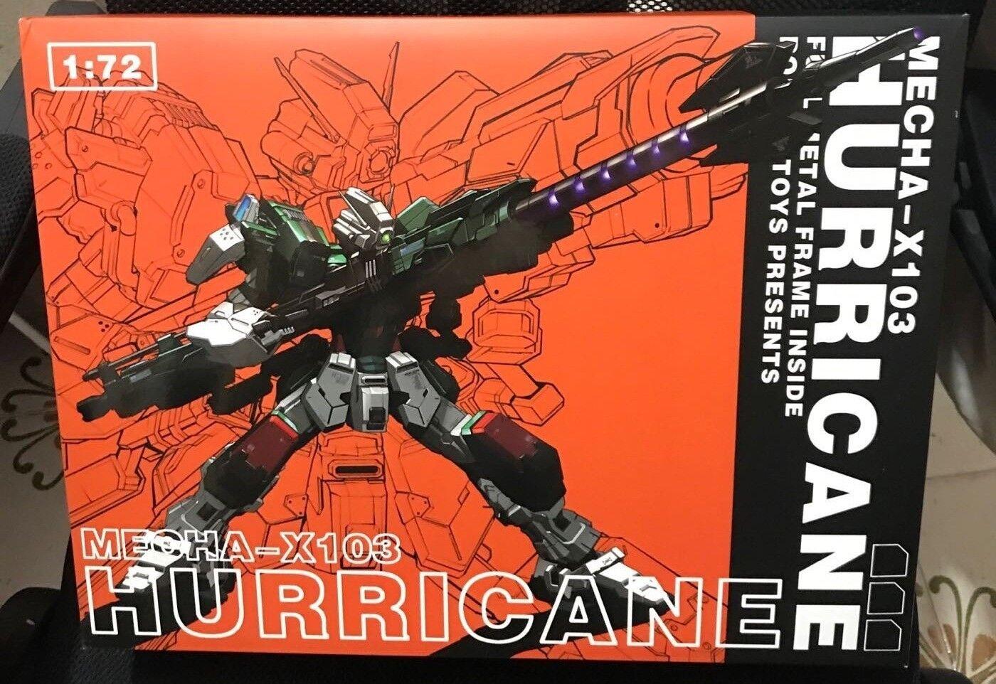 1 72 moshow Poison Toys Mecha-X103 Gundam ouragan fini Action Figure
