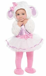 Baby Toddler Little Lamb Costume Easter Filles Fancy Dress Outfit 6-12 Mnths-afficher Le Titre D'origine Demande DéPassant L'Offre