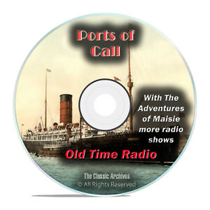 Details about Ports of Call, 511 Old Time Radio, World History Drama Shows,  mp3 DVD G72