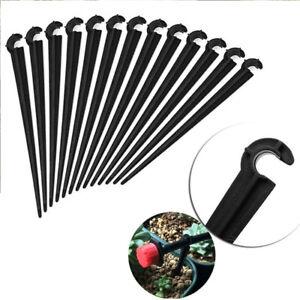 soutien-tuyaux-d-039-irrigation-le-plastique-materiel-d-039-arrosage-des-tiges-de-fixe