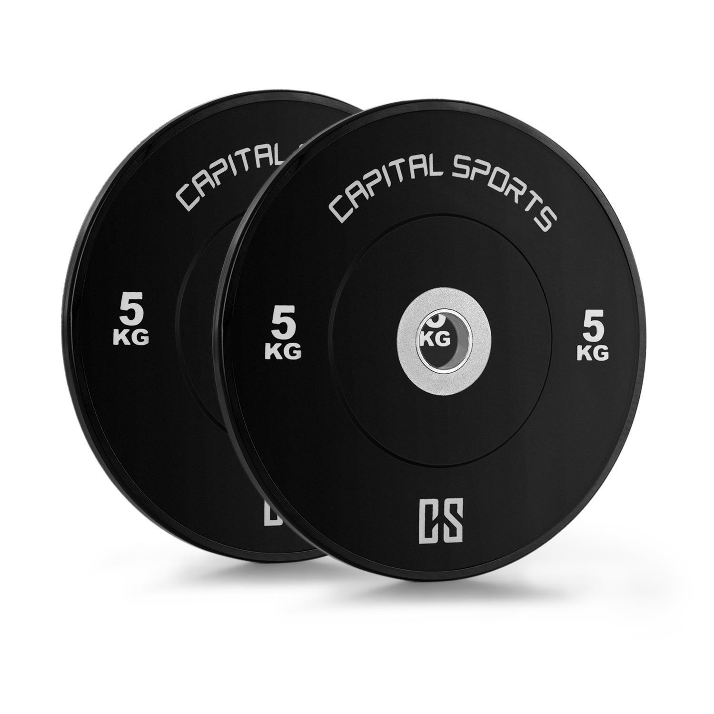Disques poids de compétition EntraineSiet haltère Weight Drops Amorti