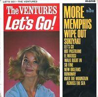 THE VENTURES Let's Go Vinyl Record LP Liberty LBY 1169 1963 Mono 1st Pressing