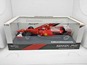 HOTWHEELS-1-18-Ferrari-F10-Fernando-Alonso-Bahrain-GP-Edition-IMPECABLE