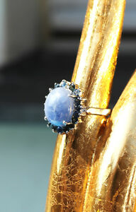 aduya-19-STEINE-BLAU-SAPHIR-RING-925er-SILBERRING-OVAL-17-8-mm-MIT-VIDEO
