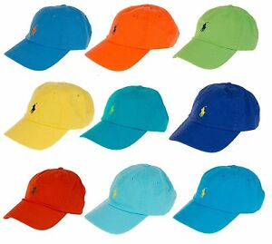 Image is loading New-POLO-RALPH-LAUREN-Adjustable-Strap-Baseball-Hat- 4d8be522599e