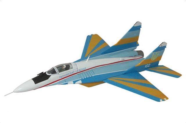 CORGI MiG-29 MiG-29 MiG-29  Fulcrum C Ukranian Falcons TeamUS37505 b00724