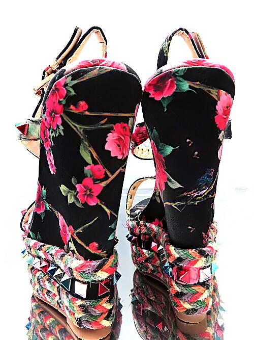 NEU Sommer HOHE Damen Sandalen Pumps Schuhe P23 High Heels Keilabsatz 36