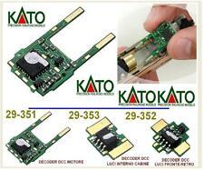 KATO 29-351 DECODER DIGITALE DCC EM13 per GESTIONE MOTORI GOTTARDO e TGV SCALA-N