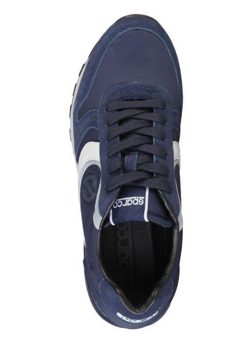 Sparco Hidden blu blau Sneaker Wildleder Herren Schuhe Racing Sneaker blau alle Größen a176f2