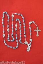 Chapelet ancien Argent & pâte de verre  Antique s.silver & glass rosary