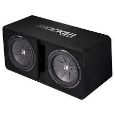 KICKER DCWR122 Dual 12 Inch CompR Enclosure Subwoofer Speaker