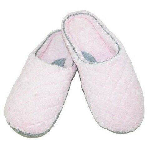 Women's Quilted Microfiber Terry Clog Slippers 5-6
