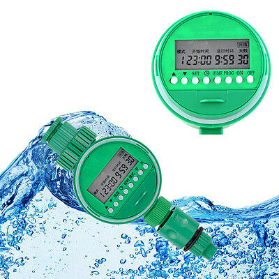 Home Water Timer Garden Irrigation Controller 5548-16 Set Water Programs KK