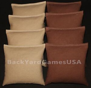 Pleasing Details About All Weather Cornhole Bean Bags Khaki Tan Brown Plastic Resin Filled Waterproof Cjindustries Chair Design For Home Cjindustriesco