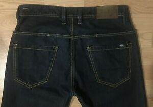 Great-DIESEL-PADDOM-dark-blue-jeans-Size-W30-L34-wash-0088Z-Made-in-Italy