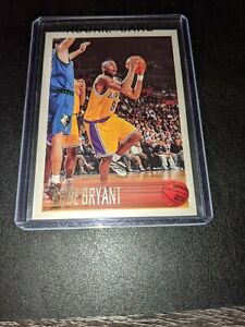 1996-97 Topps #138 Kobe Bryant Rookie Card RC NM/MINT LAKERS MOST WANTED MAMBA