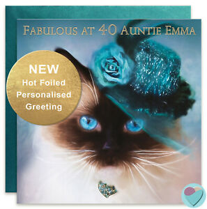 PERSONALISED-Auntie-Aunt-Aunty-Birthday-Card-to-or-from-Ragdoll-cat-kitten-lover