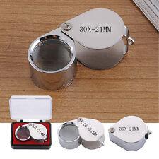 Premium Jewellers Eye Loupe Magnifier Magnifying Glass 30 x21mm Diamond Jewelery