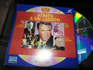 Catch-A-Un-Thief-Laser-Disc-Cary-Grant