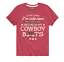 Case IH See Me In My Cowboy Boots-Toddler Girls Short Sleeve T-Shirt