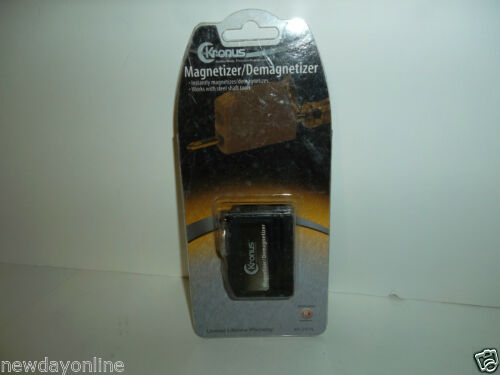 NEW Kronus Tools by RadioShack Keychain Magnetizer Demagnetizer 64-2974 OEM