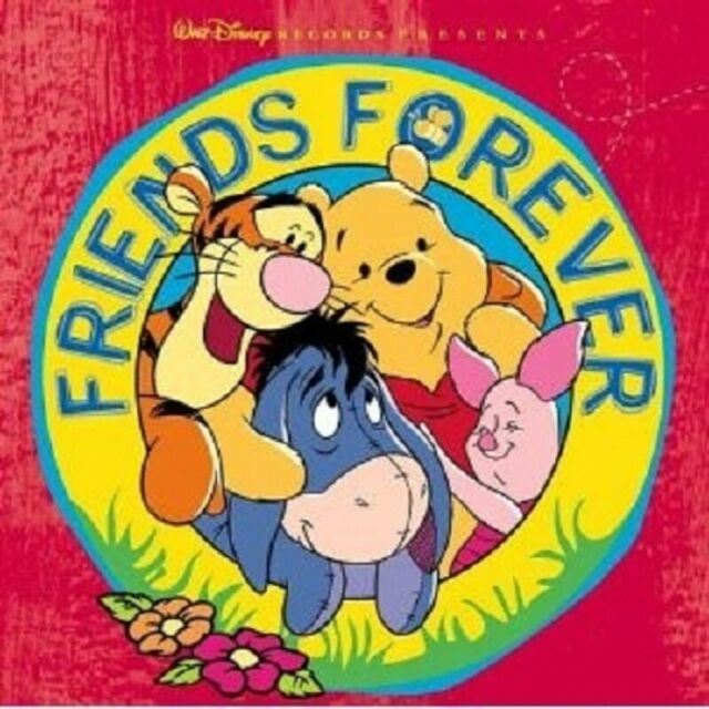 WINNIE THE POOH FRIENDS FOREVER  CD ORIGINAL SOUNDTRACK/FILMMUSIK NEW
