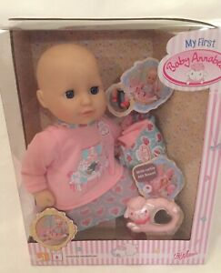 MY FIRST BABY ANNABELL 36 CMS DOLL WITH SLEEPING EYES AND ...