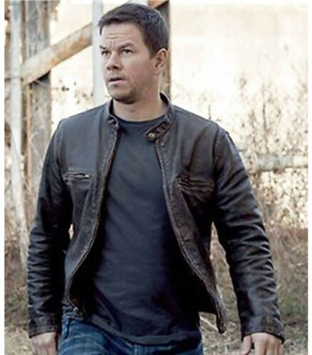 S Wahlberg' Vache Homme Coupe Cuir Authentique Contraband Slim Mark De wBFqnfRpxC