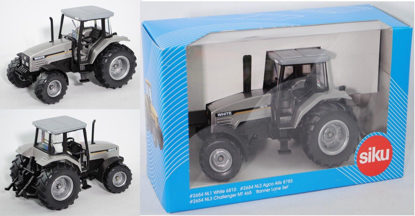 El ultimo 2018 Siku Farmer 2654 00301 AGCO blanco 6810 tractor, 1 32, 32, 32, werbeschachtel, limitado  distribución global