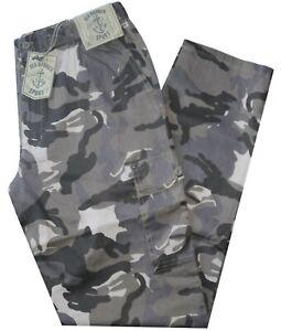 Pantalone-uomo-taglia-M-L-XL-XXL-XXXL-tasconi-mimetico-beige-SEA-BARRIER-isimo