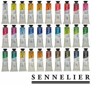 40-ml-SENNELIER-Feine-Olfarben-RIVE-GAUCHE-freie-Farbwahl-aus-60-Farbtoenen