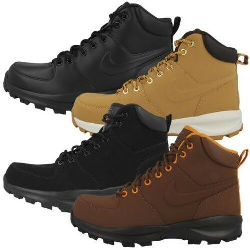 330b69121 Nike Manoa Leather Stivaletti Uomo Nero 43 EU (o7y) | Acquisti Online su  eBay