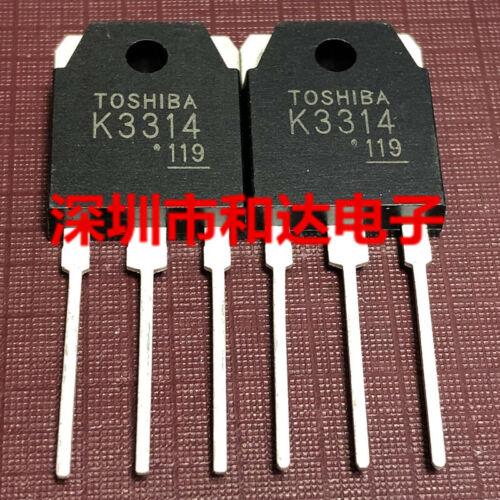 5 x K3314 2SK3314 Field Effect Transistor TO-3P 500V 15A