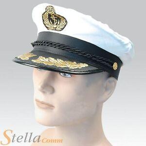 de-luxe-satin-chapeau-de-CAPITAINE-OFFICIER-MILITAIRE-MARINE-MARINE-ADULTE