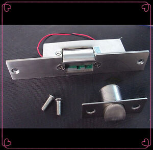 Fail Safe NC Narrow-type Door Electric Strike Lock for Access Control 12V DC 602766085682