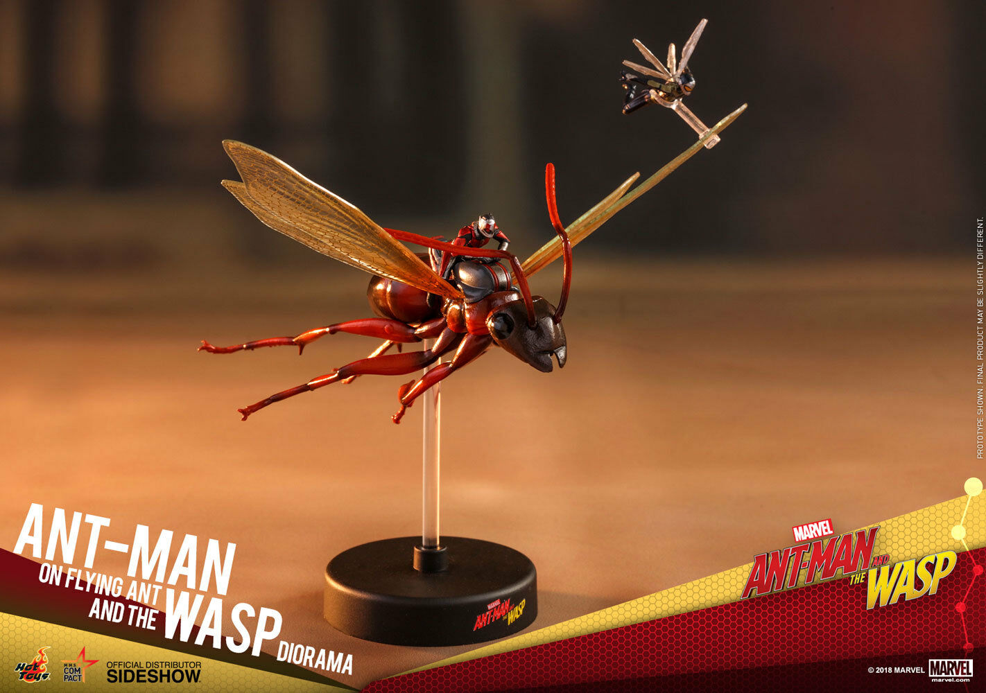 HOT TOYS Marvel  Ant-Man on Flying Ant and The Wasp Diorama
