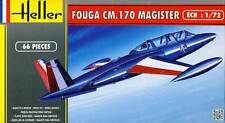 Heller - Fouga Magister CM 170 Patrol de France & RAF model kit - 1:72